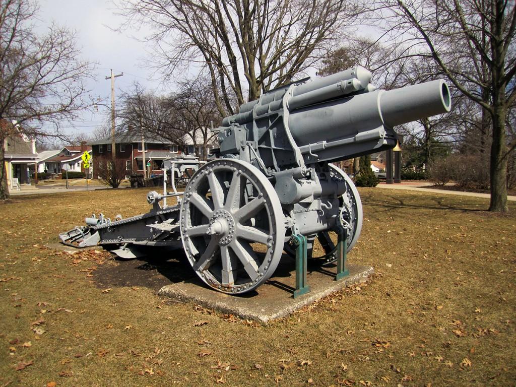 March 9th: WWI Gun.