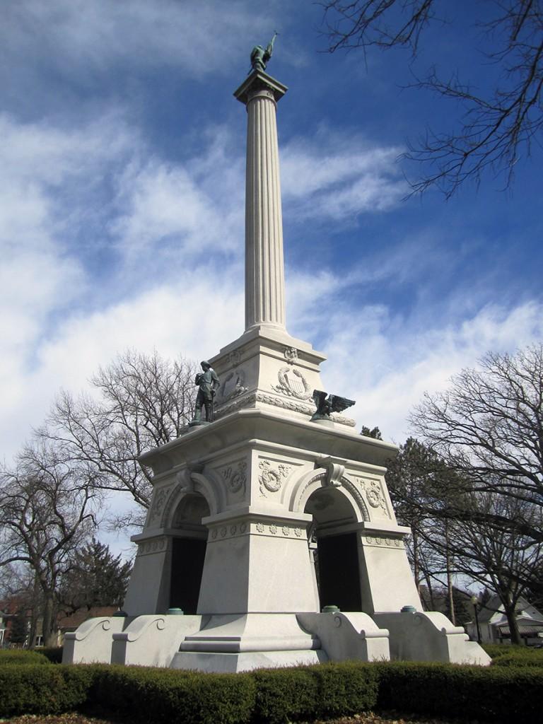 March 8th: Monument (Miller Park, Bloomington, IL).