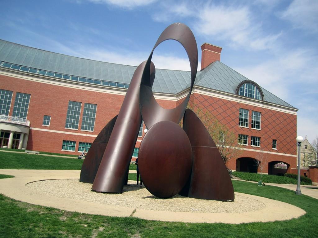 April 17th: Steel Sculpture (Urbana, IL)