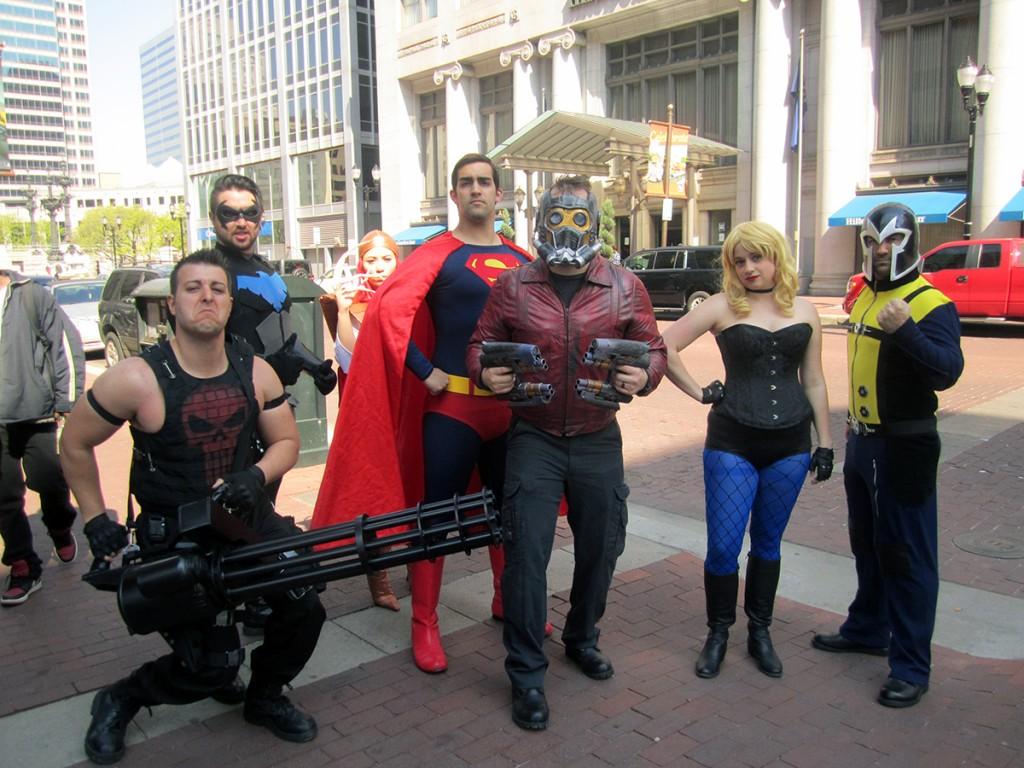 April 30th: Superheroes