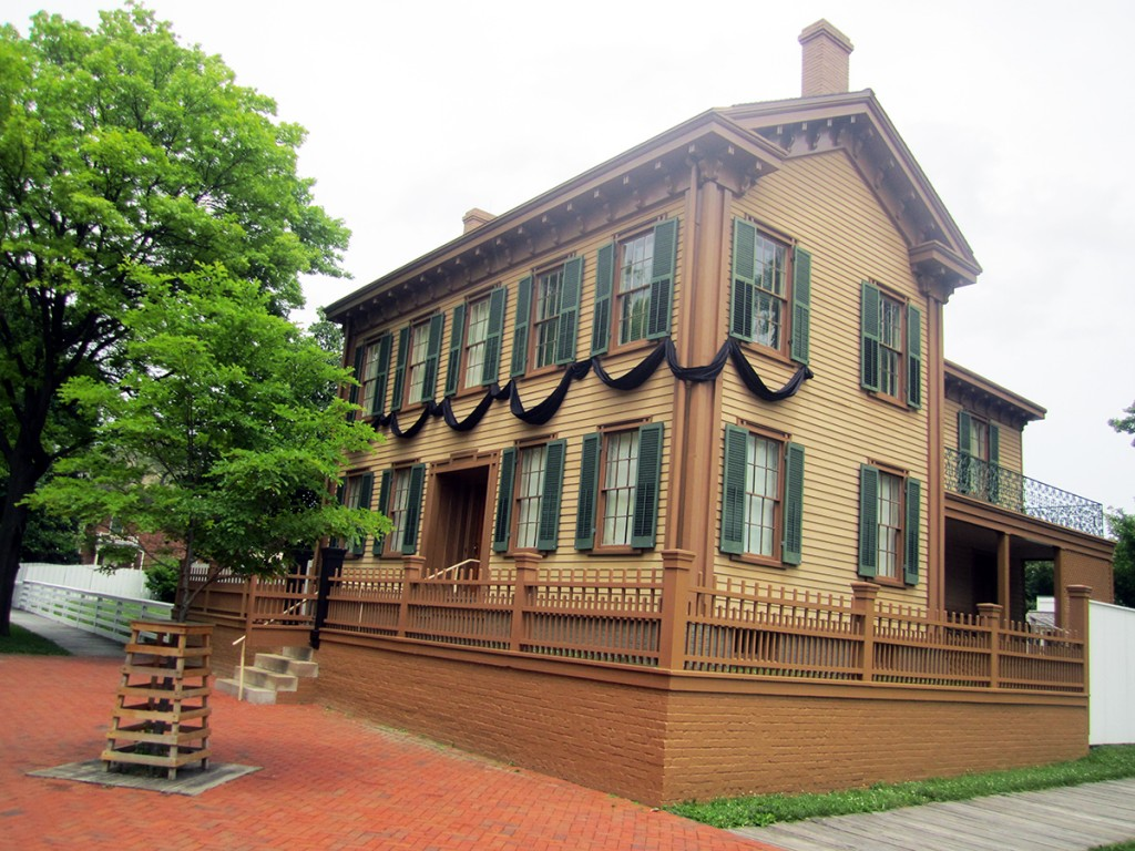 May 5th: Lincoln's House (Springfield, IL)